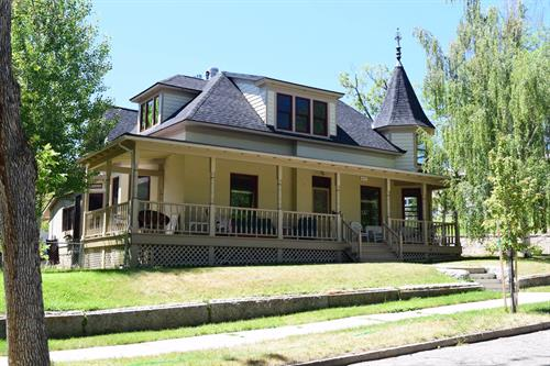 "Smith House, Helena. Restored after severe fire damage. Voted ""Best Overall"" in 2014 Helena Parade of Homes!"