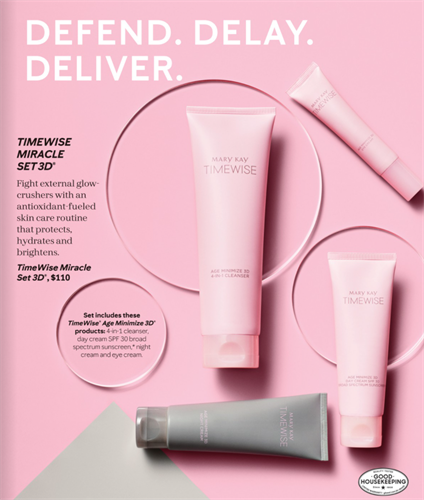 TimeWise Miracle Set 3D - Early To Moderate Signs of Aging