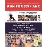 7TH ANNUAL RUN FOR 57TH AHC