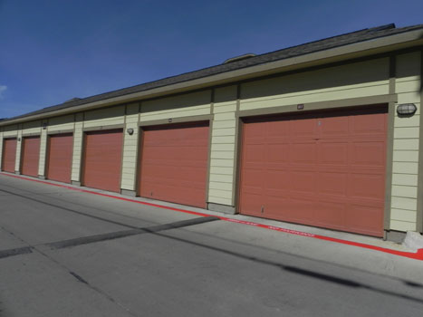 Garages and Storage availabe