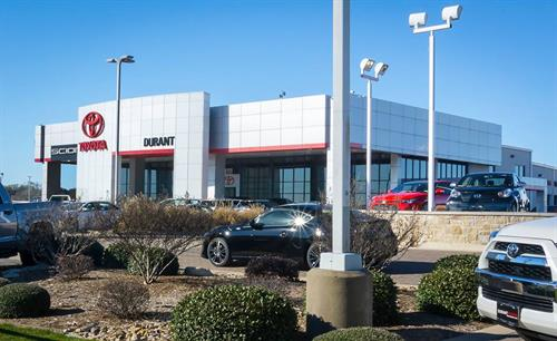 Durant Toyota, in Weatherford (New, Certified & Preown)  http://www.duranttoyota.com/