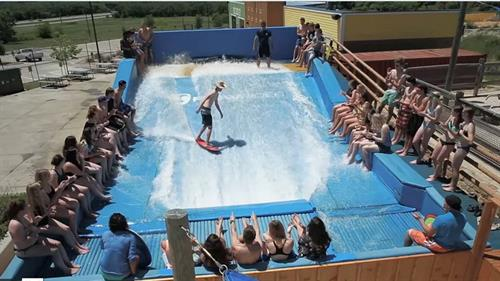 Only Flowrider in the area!