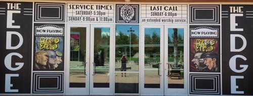 North Coast Church Window Graphics