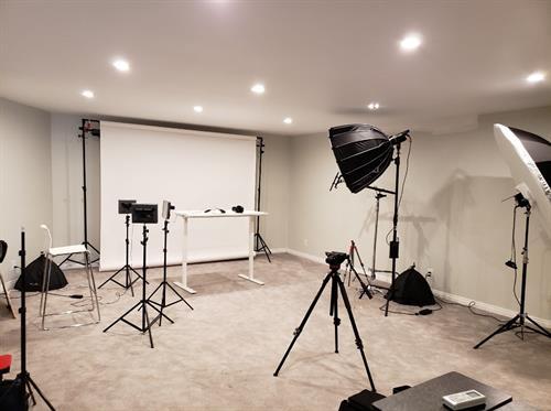 On-site video studio in Vista, CA