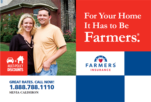 Protect your biggest investment with Farmers Insurance