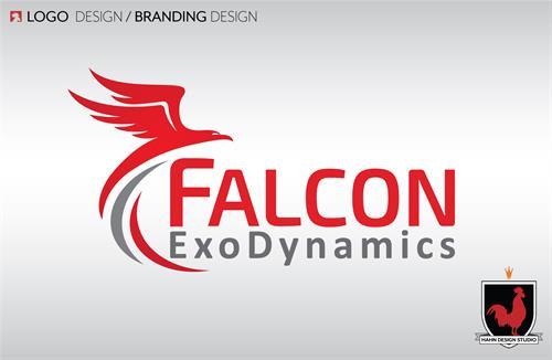 Logo Design for Falcon ExoDynamics (2018)