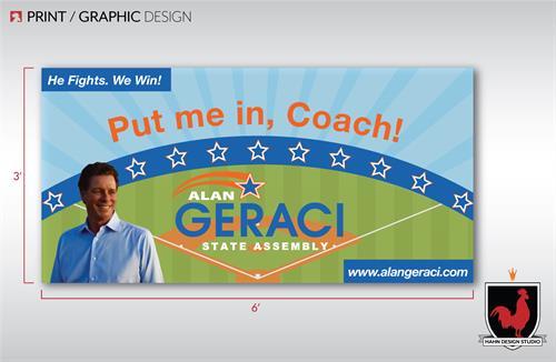 Banner Design for 2018 Alan Geraci Campaign