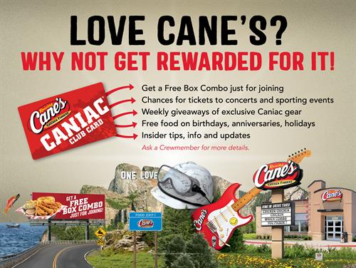 Join our Caniac Club