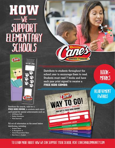 We love partnering with local schools