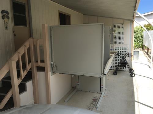 Bruno Vertical Platform Lifts (porch lift)
