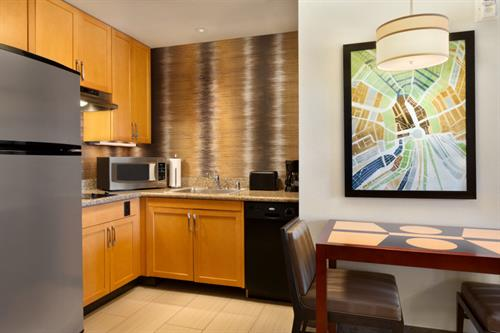 Full Kitchens in all Suites for your enjoyment