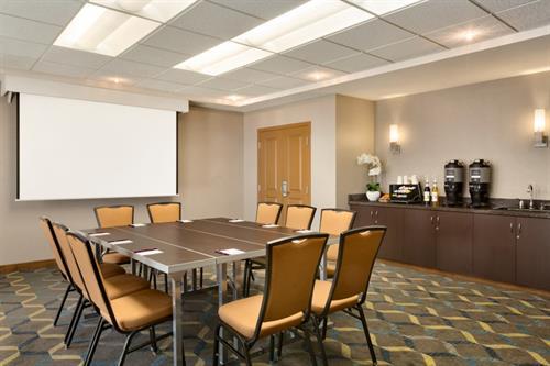 State-of-the-Art Meeting Room can accommodate up to 30 people