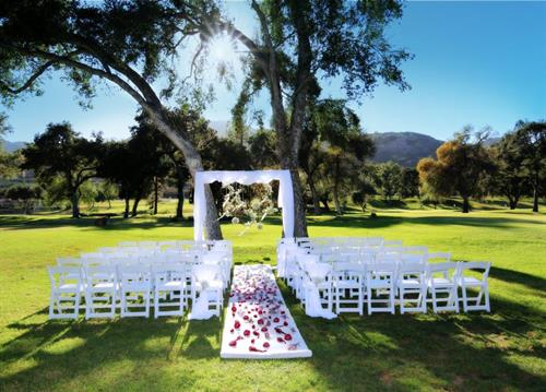 Oaks on the Greens Wedding Ceremony Venue