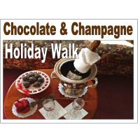 CHAMPAGNE & CHOCOLATE WALK 11/7/2020-Tickets on Sale Now