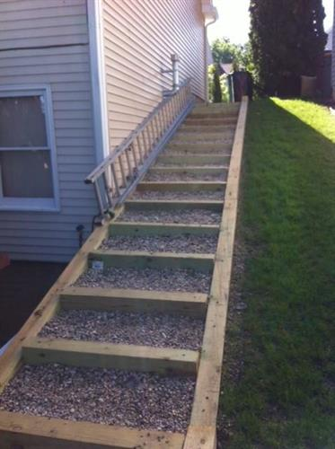 completed stairway