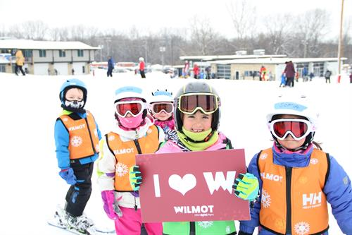 Wilmot Mountain offers multi week programs for children take them from beginner to expert!