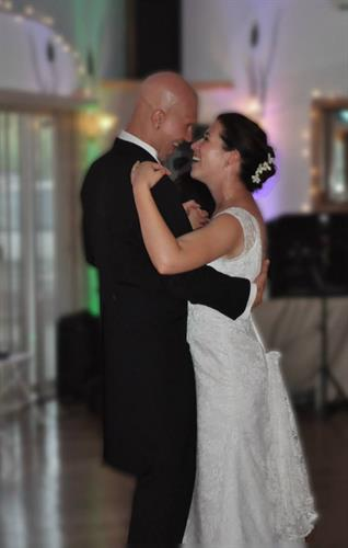 Parkway Banquets - One of our sweet couples sharing a tender moment