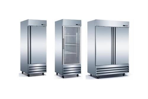 Stainless Steel Commercial Reach In Refrigerators and Freezers