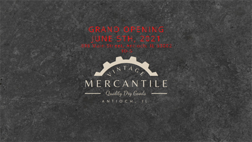 Grand Opening is June 5th, 2021!