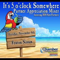 It's 5 o'clock Somewhere - Partner Appreciation Mixer