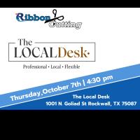 Ribbon Cutting - The Local Desk