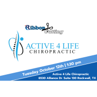 Ribbon Cutting - Active 4 Life Chiropractic