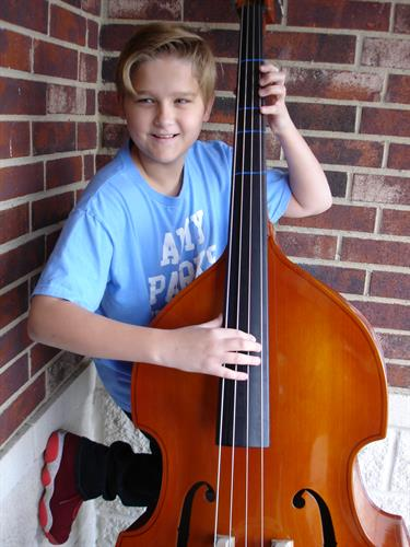Violin, viola, cello and bass lessons are offered for those interested in orchestral instrumental lessons.