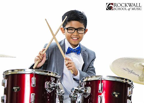 Drums is always one of our most popular instruments to teach.
