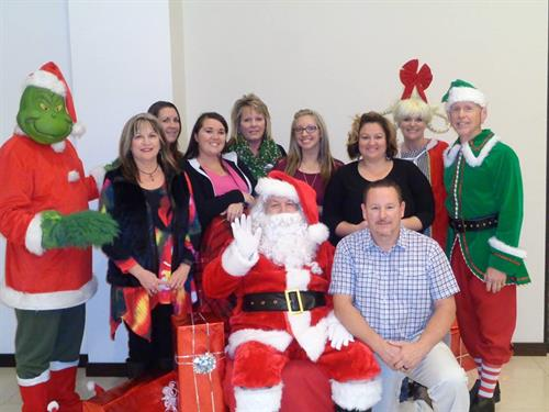 Jamie Jacks and Team Christmas Grinch Closing Day  2016