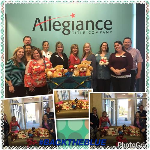 Jamie Jacks and Team helping Guild Mortgage with their Teddy Bear Drive Feb 2017