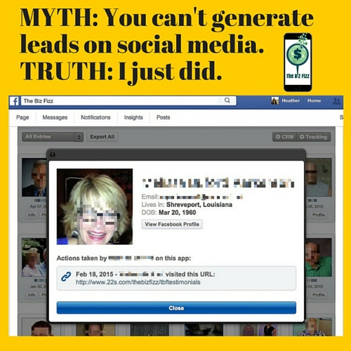 Get BEYOND the click... Generate QUALIFIED leads from Facebook!