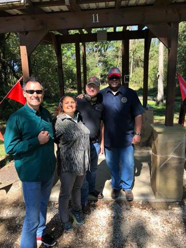 Shootin' clays at Rockwall Gun Club to benefit Terry Fisher 117 post American Legion