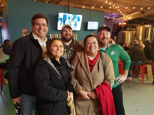 Toys for Tots 2018 at Hemisphere Brewing company