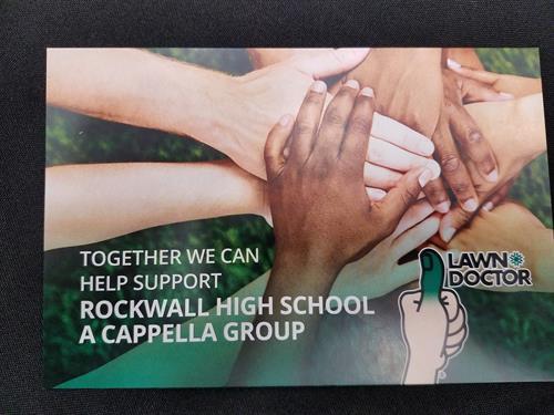 Rockwall High School Walk the Line Fundraiser