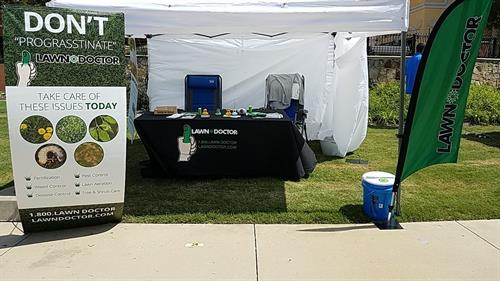 Duck Regatta booth