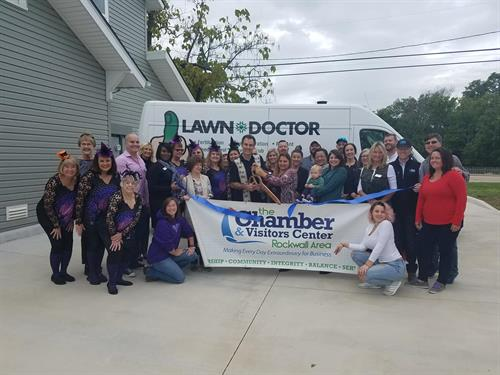 Chamber Ribbon Cutting and United Warrior Services fundraiser over $300 Raised, thanks Rockwall Chamber