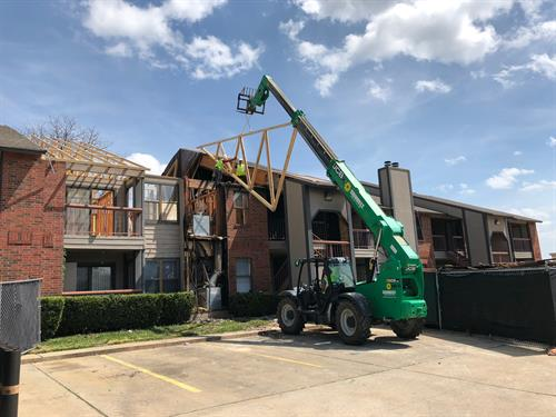 Multi-Family reconstruction from Fire damage