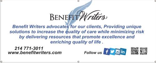 Benefit Writers - Mission Statement
