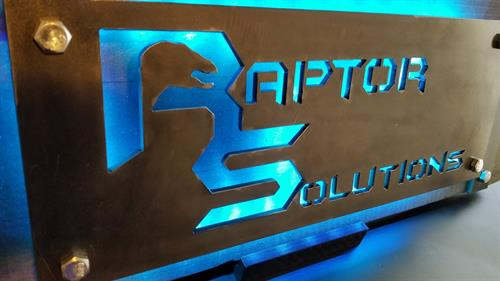 Raptor IT Solutions Sign