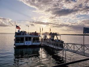 DFW Boat Ride (Harbor Lights, Sapphire Moon)