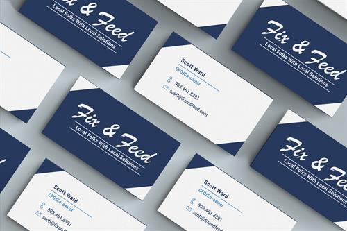 Logo & Business Card Design - Branding Services