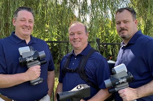 Three Amigos ready to help!