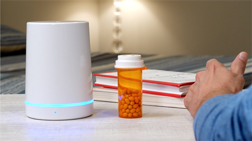 The Pillar is perfect for securely storing your prescription medicine.
