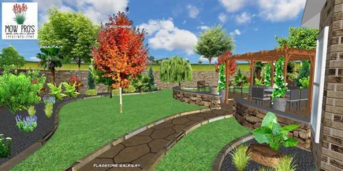 Landscape Design Render-We can help you visualize any landscape!