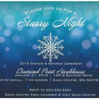 Annual Chamber Dinner & CVB Awards Banquet