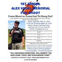 1st Annual Alex Vogel Memorial Fun Shoot