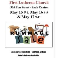 Rummage Sale First Lutheran Church