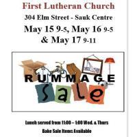 Rummage Sale First Lutheran Church