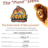 The Mane Event - First Lutheran Church