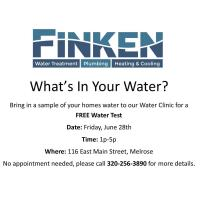 Finken Water Clinic